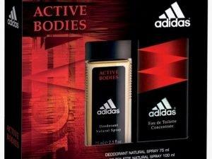 ADIDAS ACTIVE BODIES ZESTAW WODA 100ML + DEO 75ml