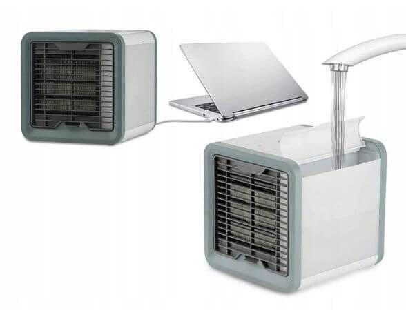 KLIMATYZATOR PRZENOŚNY ARCTIC AIR COOLER LED USB