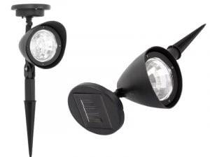 LAMPA LAMPKA SOLARNA OGRODOWY REFLEKTO CZUJNIK LED