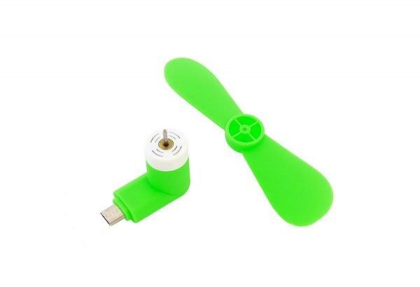 WIATRAK WIATRACZEK TELEFONU MICRO USB WENTYLATOR