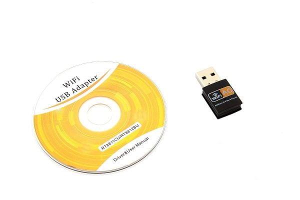 KARTA SIECIOWA WIFI WI-FI USB AC 600MBPS 2GHz + 5G