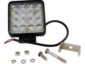 LAMPA ROBOCZA 16 LED HALOGEN SZPERACZ 48W 12V 24V