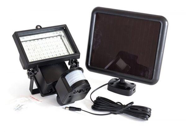 LAMPA SOLARNA HALOGEN 60 LED SOLAR 4 TRYBY PRACY