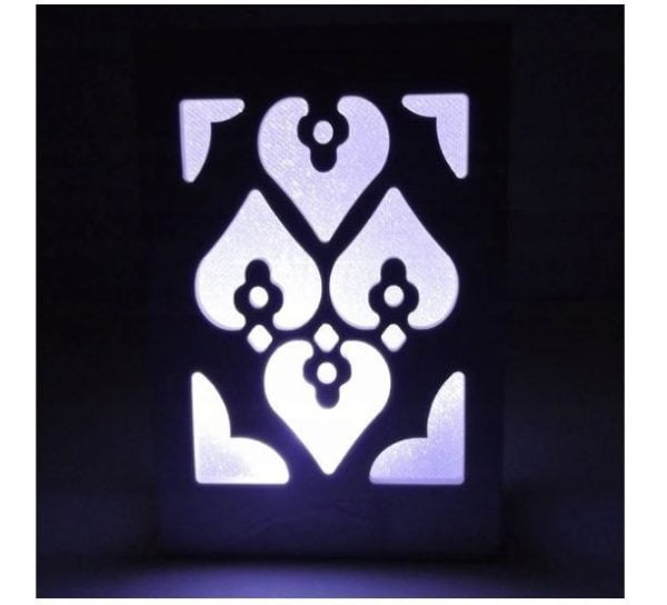 LAMPKA NOCNA LAMPA DEKORACYJNA LAMPION LED WZORY