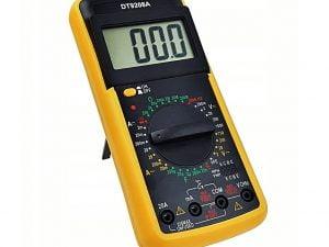 MIERNIK LCD MULTIMETR Z TEMPERATURĄ DT9208A SONDA