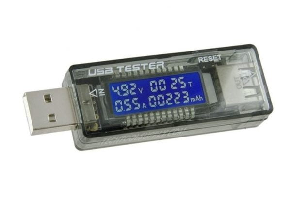 MIERNIK TESTER USB V20 WOLTOMIERZ AMPEROMIERZ 3A
