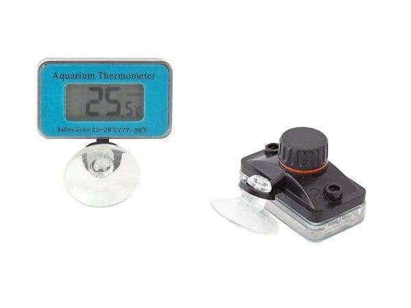 TERMOMETR CYFROWY AKWARIUM LCD ELEKTRONICZNY