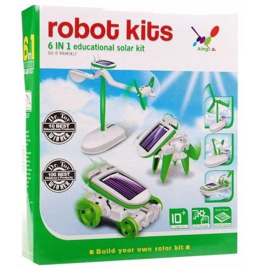 ZESTAW SOLARNY ROBOT KITS 6w1 SOLAR EDUKACYJNA