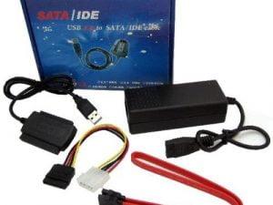 ADAPTER USB IDE 3.5'' 2,5'' SATA ATA SSD ZASILACZ
