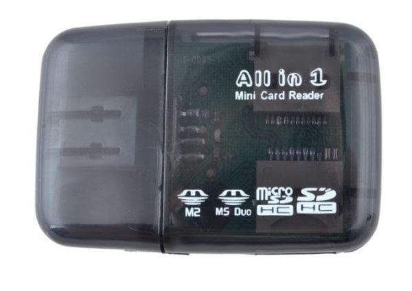 CZYTNIK KART PAMIĘCI 52w1 SD MMC MS MS DUO