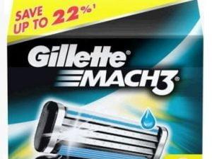 GILLETTE MACH 3 8SZT NOŻYKI OSTRZA WKŁADY ORYGINAŁ
