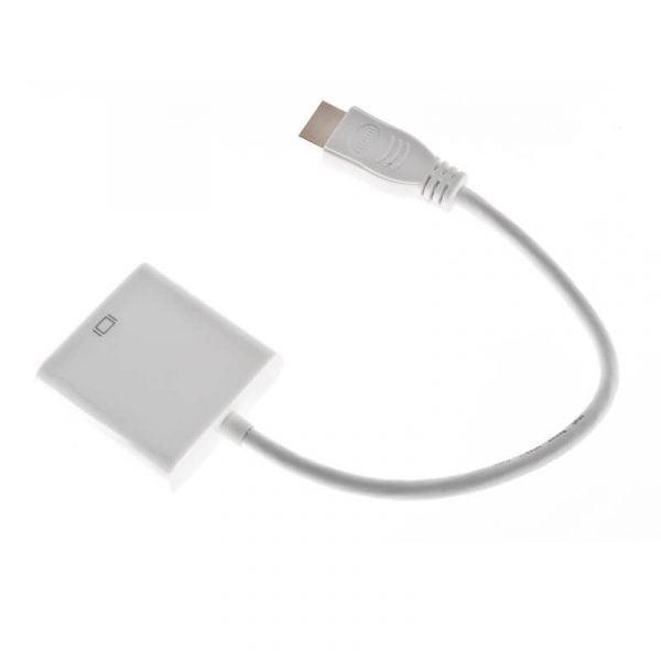 KONWERTER ADAPTER KABEL HDMI na VGA D-Sub FULL HD