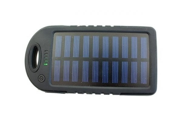 ŁADOWARKA SOLARNA POWER-BANK 5000mAh BATERIA POWER