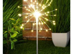 LAMPA OGRODOWA SOLARNA 120 LED DRZEWO DMUCHAWIEC
