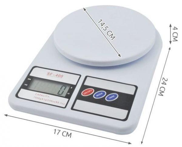 WAGA KUCHENNA Z WYŚWIETLACZ LCD ELEKTRONICZNA 10kg