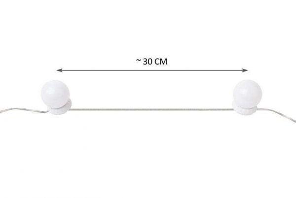LAMPKI LED LUSTRO ŚWIATEŁKA DO TOALETKI MAKIJAŻ 10
