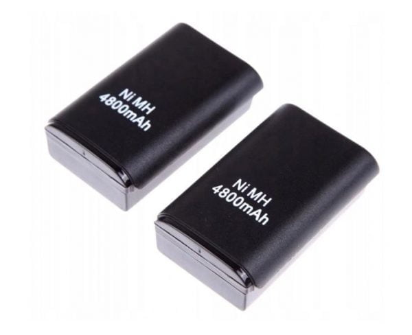 2x BATERIA DO PADA XBOX 360 ŁADOWARKA + KABEL USB