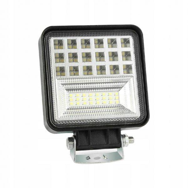LAMPA ROBOCZA LED PANEL HALOGEN 126W 12V 24V CREE