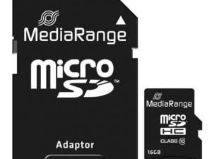MEDIARANGE KARTA PAMIĘCI 16GB microSDHC CLASS 10