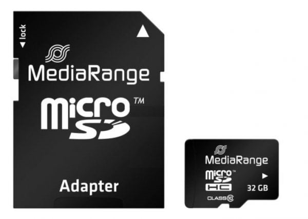 MEDIARANGE KARTA PAMIĘCI 32GB microSDHC CLASS 10