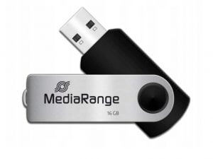 MEDIARANGE PENDRIVE USB 2.0 16GB FLASH TWISTER