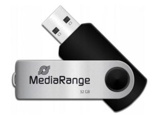 MEDIARANGE PENDRIVE USB 2.0 32GB FLASH TWISTER