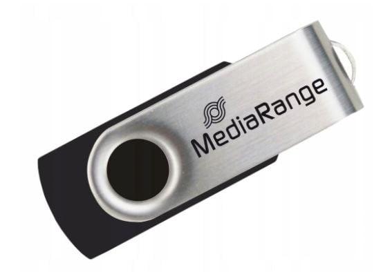 MEDIARANGE PENDRIVE USB 2.0 32GB FLASH TWISTER
