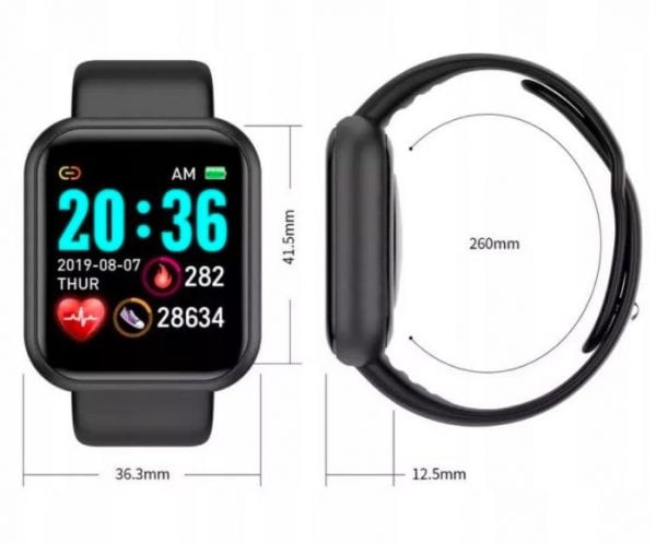 SMARTBAND SMARTWATCH L18 ZEGAREK OPASKA FIT BAND