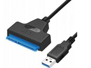 ADAPTER PRZEJŚCIÓWKA USB na SATA DYSK HDD SSD 3.0!
