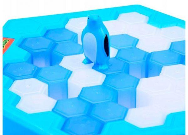 GRA PINGWINY NA LODZIE PUŁAPKA PINGUIN TRAP ICE