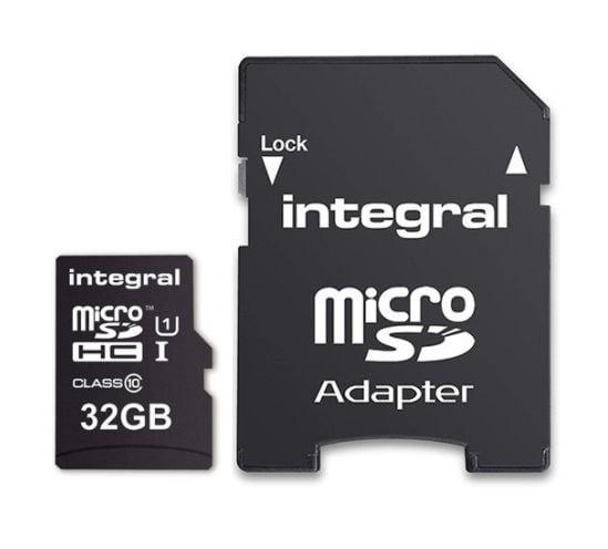 INTEGRAL KARTA PAMIĘCI 32GB microSDHC CLASS 10