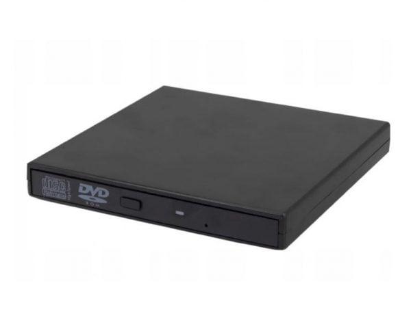 OBUDOWA NAPĘD CD/DVD SLIM NA USB SATA KIESZEŃ