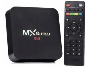 SMART TV BOX 8GB DEKODER MXQ PRO 4K ANDROID 7.1