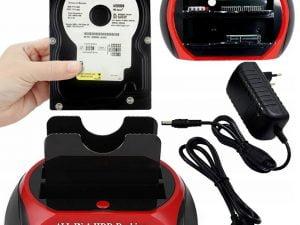 STACJA DOKUJĄCA DYSKÓW SATA ATA IDE HDD SSD USB