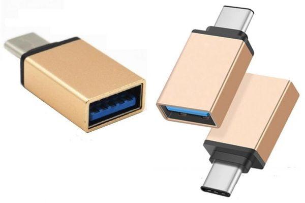 ADAPTER OTG USB-C typ C - USB 3.0 MYSZKA PENDRIVE
