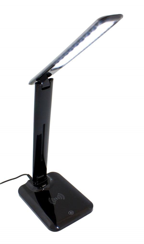 LAMPKA NA BIURKO LED Z ŁADOWARKA BEZPRZEWODOWA IQ