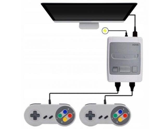 KONSOLA GAMINGOWA 8-BIT HDMI 621