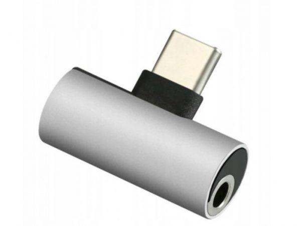 ADAPTER PRZEJŚCIÓWKA AUDIO USB-C DO MINI JACK