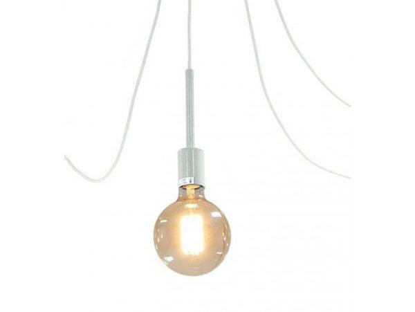 LAMPA SUFITOWA WISZĄCA ŻYRANDOL PAJĄK LOF E27 LED