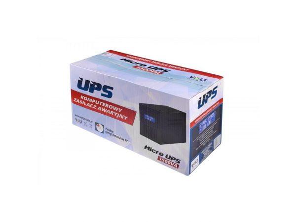 ZASILACZ AWARYJNY UPS 1500VA 900W 2x9AH PROGRAM