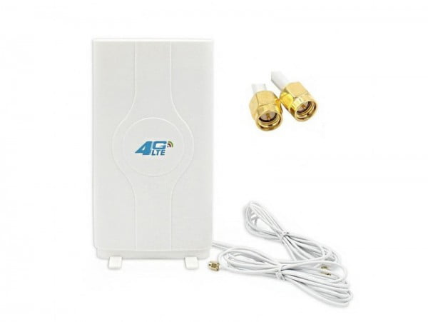 ANTENA 44dBi LTE 4G 2x SMA 3m HUAWEI DUAL MIMO