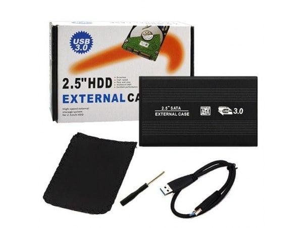OBUDOWA DYSKU KIESZEŃ 2.5 USB 3.0 SATA SSD HDD
