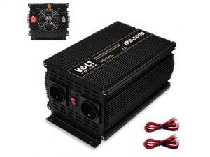 PRZETWORNICA NAPIĘCIA IPS 5000W 12V 230V VOLT PL