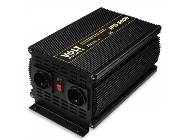 PRZETWORNICA NAPIĘCIA IPS 5000W 24V 230V VOLT PL
