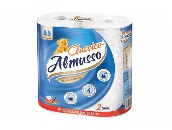 ALMUSSO CLASSICO RĘCZNIKI PAPIEROWE 2 ROLKI MIĘKKI