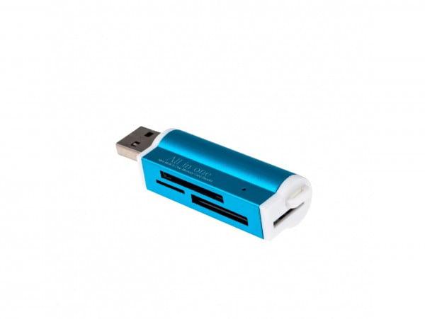 CZYTNIK KART PAMIĘCI MICRO SDHC/SDXC METALOWY USB
