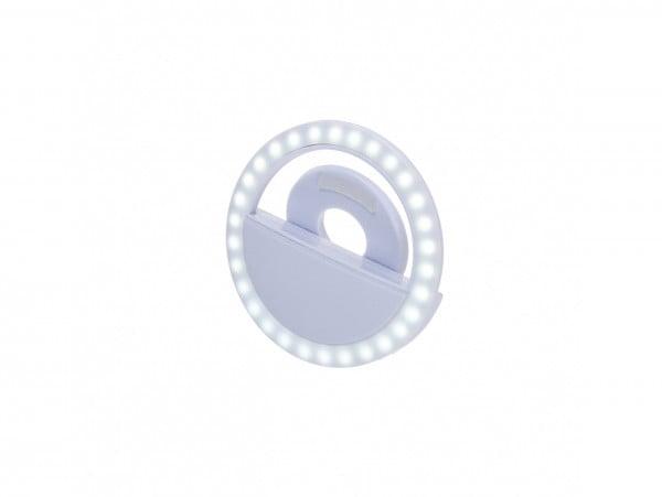 LAMPA SELFIE PIERŚCIENIOWA TELEFONU USB LED RING