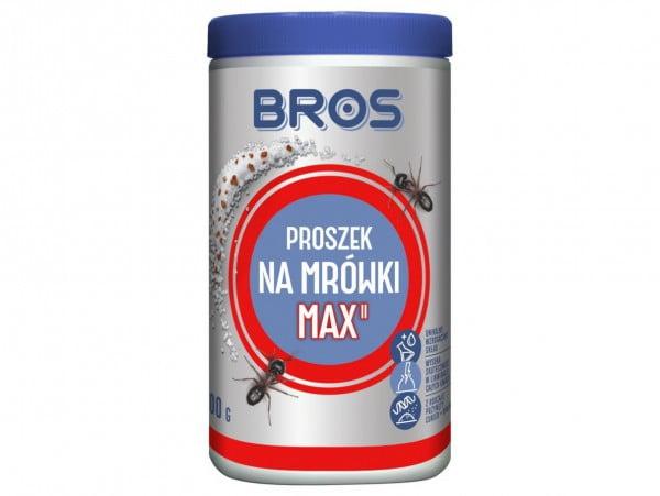 BROS MAX PROSZEK NA MRÓWKI 100G MOCNY SKUTECZNY