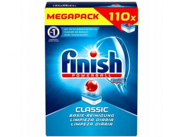 FINISH CLASSIC TABLETKI DO ZMYWARKI 110 SZTUK MEGA