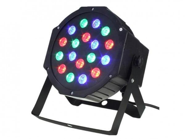 KOLOROFON REFLEKTOR STELAŻ LED RGB 18X1W DMX 230V